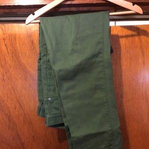 J. Crew Men's Cabin Pant - Green - 32x34